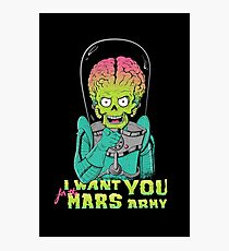 Mars recruitment Photographic Print