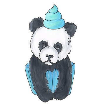 Panda Cupcake by DoraTheExplore