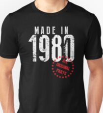 Made In 1980, All Original Parts T-Shirt