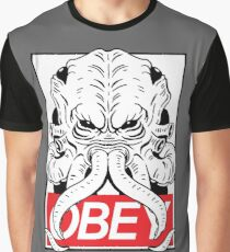 OBEY CTHULU Graphic T-Shirt