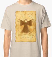 Vitruvian Nun Classic T-Shirt