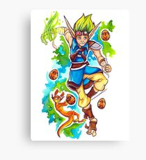 Jak and Daxter - Precursor Legacy Canvas Print