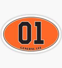 General Lee - Euro Sticker Sticker
