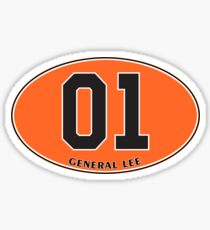 General Lee - Euro Sticker Sticker
