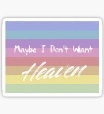 HEAVEN - Troye Sivan Sticker