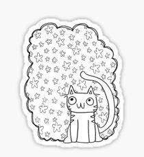 kitty dreamz Sticker