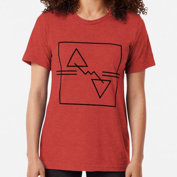 Inge Thomson - Shipwrecks And Static - Album Art Re-Imagined Tri-blend T-Shirt