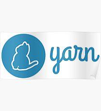 Yarn Logo Poster