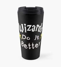 Wizards Do It Better Travel Mug