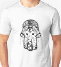 Hippie Elephant Hamsa T-Shirt