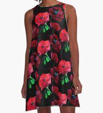 Poppies A-Line Dress