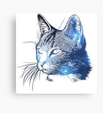 Cat from Beyond Canvas Print