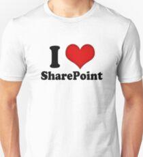 I Love SharePoint Unisex T-Shirt