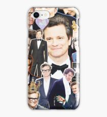 colin firth collage iPhone Case/Skin