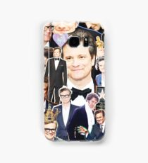 colin firth collage Samsung Galaxy Case/Skin