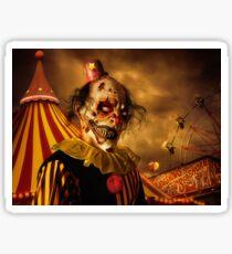Terrorific Clown Halloween 2016 Sticker