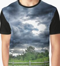 Stormy Skys Graphic T-Shirt