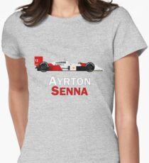 Senna - McLaren MP4/4 Women's Fitted T-Shirt