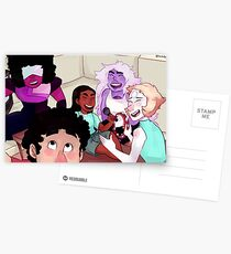 Crystal Gems 2 Postcards