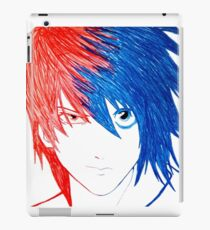 Light Vs L - Death Note iPad Case/Skin