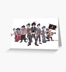 The Lost Boys from 'Hook' (1991) Greeting Card