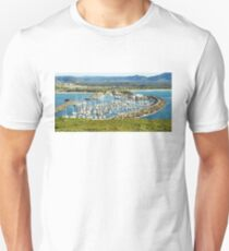 Five Hundred Thousands Views. Coffs Harbour Marina. Unisex T-Shirt