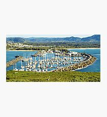 Five Hundred Thousands Views. Coffs Harbour Marina. Photographic Print