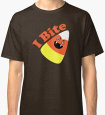 I Bite Halloween Candy Corn  Classic T-Shirt