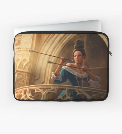Core Rulebook: Catching Arrows Laptop Sleeve