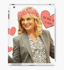 Leslie Knope - You Make Me So Happy iPad Case/Skin