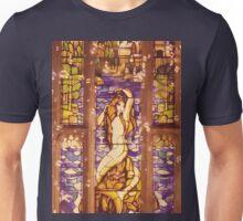 Mermaid Stain Glass Window Unisex T-Shirt