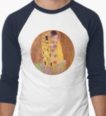 The Kiss - Gustav Klimt - Normal Men's Baseball ¾ T-Shirt