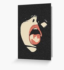 Naughty in the Dark Greeting Card
