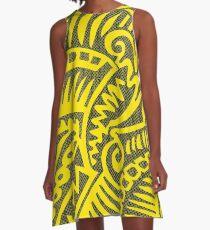 Sun Skin A-Line Dress
