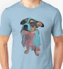 Bentley - light blue - Fauvism Unisex T-Shirt