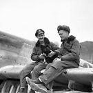 Mustang Pilots, Korean War by Bomark2076WY