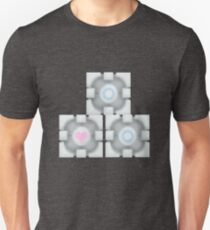 Stacked Cubes (Portal 2) T-Shirt