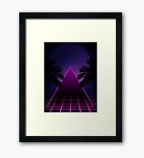 THE TEMPLE OF MODULATION Framed Print