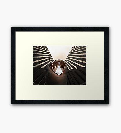 Corner Pocket Framed Print