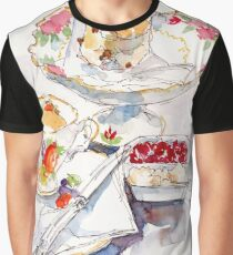 Devonshire Tea Graphic T-Shirt