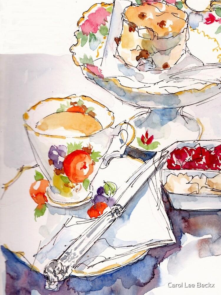 Devonshire Tea by Carol-Lee-Beckx