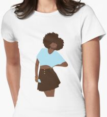 Hey Girl Women's Fitted T-Shirt