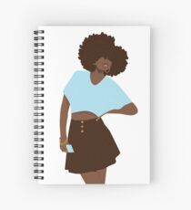 Hey Girl Spiral Notebook