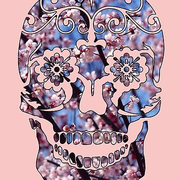 Cherry Blossom Skull by Fopicus