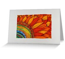 Flowers/3 - Sunflower Greeting Card