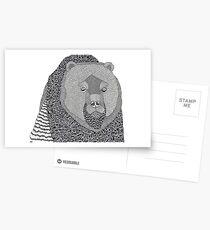 Where Bear Postcards