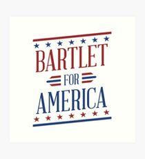 Bartlet For America 2 Art Print