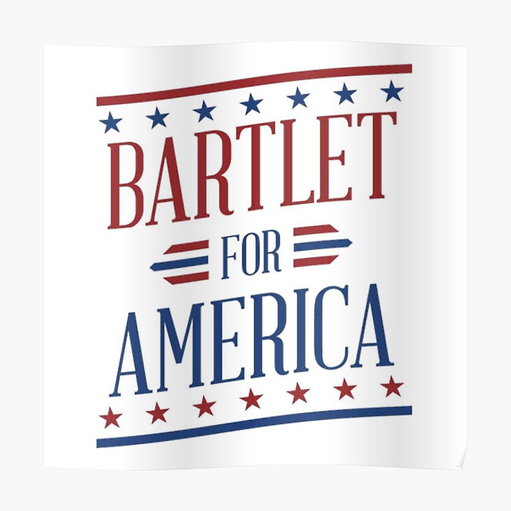 Bartlet For America 2 Póster