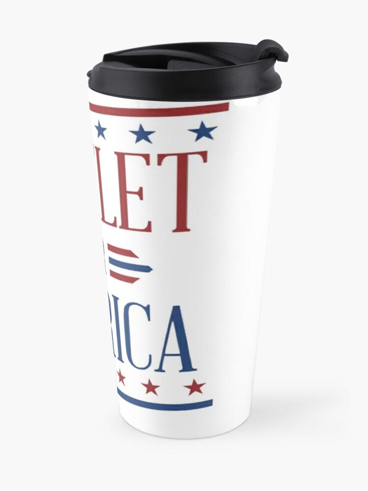 Alternate view of Bartlet For America 2 Travel Mug