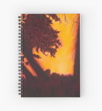 Dimming of the Day Spiral Notebook